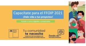 Comienza ciclo de capacitaciones online y presenciales para nuestros dirigentes en la elaboración de proyectos del Fondo de Fortalecimiento de Organizaciones de Interés Público